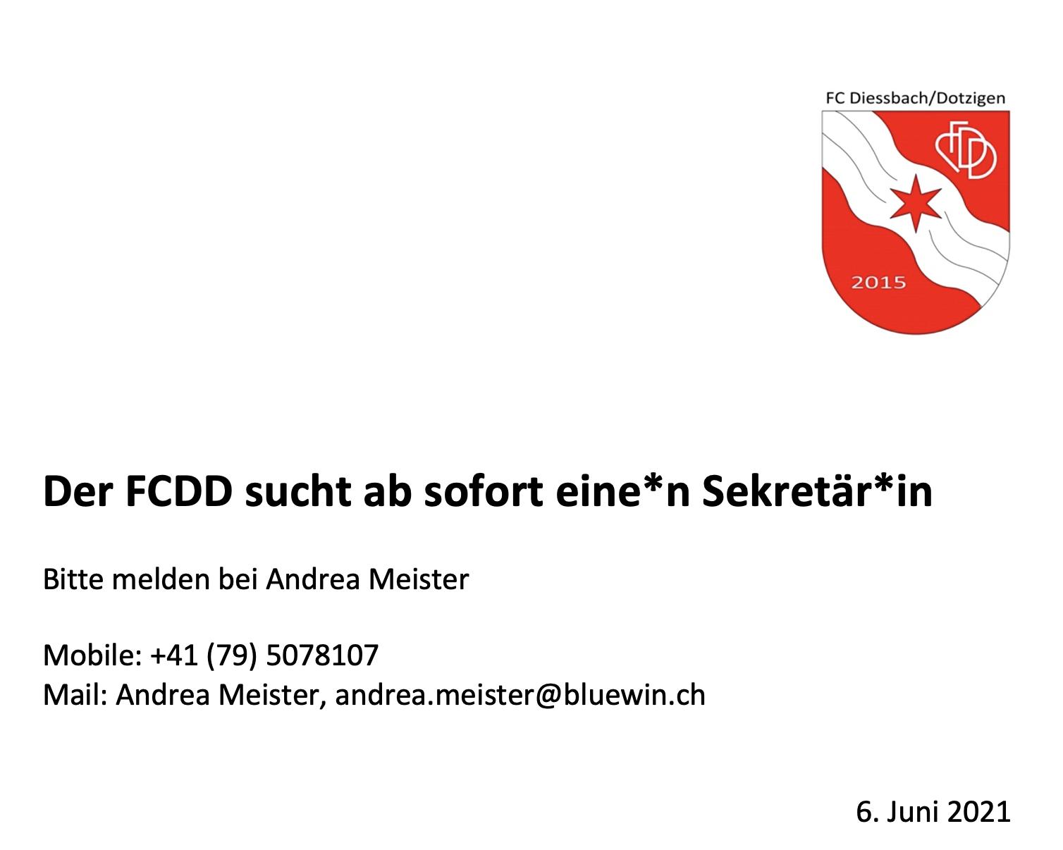 FCDDSekretärin